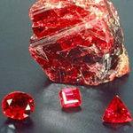 Драгоценные камни, их физико-химические свойства Rubin